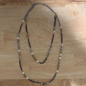 Express Long Layered Necklace